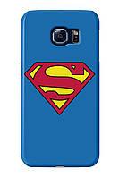 Чехол для Samsung Galaxy S6 Adge (Superman)