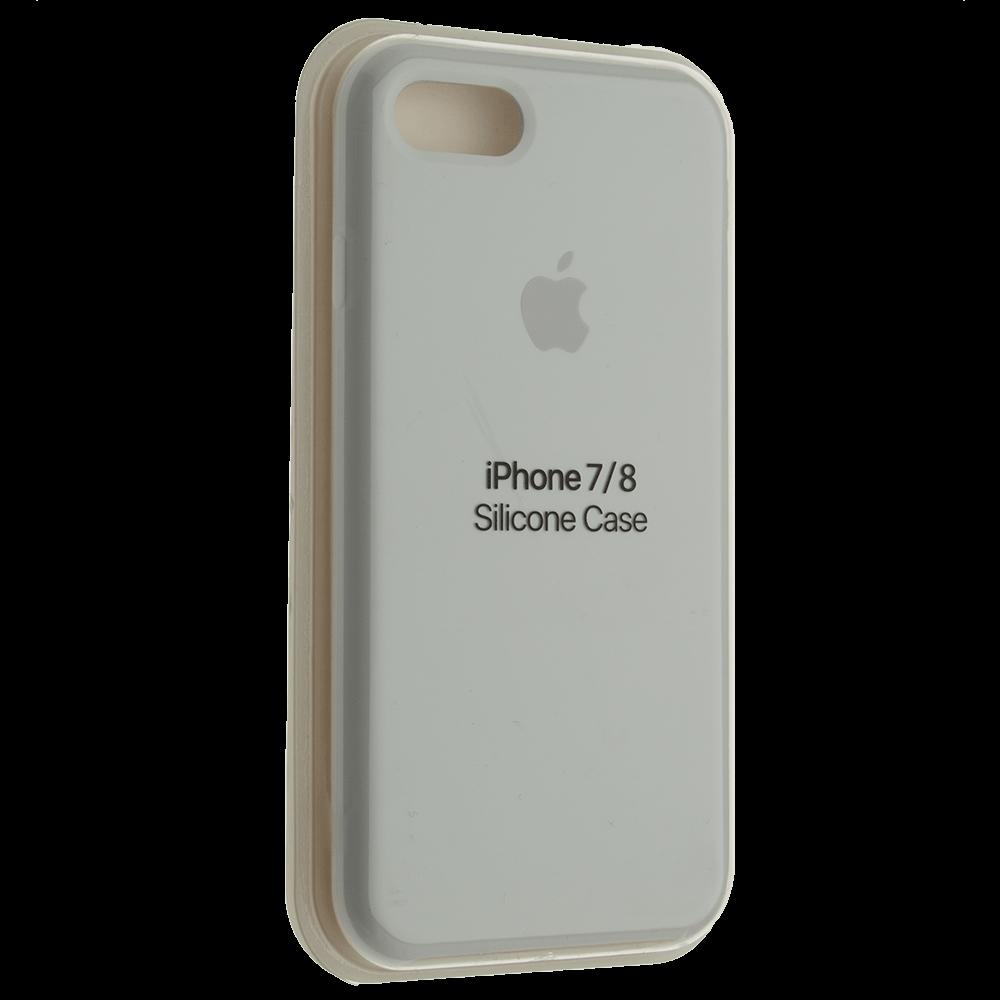 """Чехол Silicon iPhone 7 - """"Белый №9"""""""