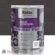 """Эмаль молотковая """"Hammer"""" 3в1 Ролакс 315 коричневая 2л"""