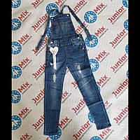 Подростковые джинсовые комбинезоны для девочек оптом MUA GIRL