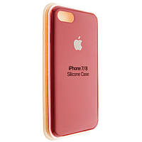 """Чехол Silicon iPhone 7 - """"RED №33"""""""