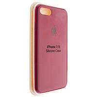 """Чехол Silicon iPhone 7 - """"Темно-розовый №36"""""""