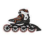 Роликовые коньки Nils Extreme NA1060S Size 39 Black/Orange, фото 4