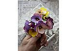 "Ножи для вырубки ""Набор Орхидеи, Анютины глазки"" от AgiArt, фото 3"