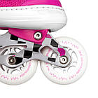 Роликовые коньки Nils Extreme NA13911A Size 31-34 Pink, фото 5