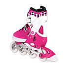 Роликовые коньки Nils Extreme NA13911A Size 31-34 Pink, фото 7