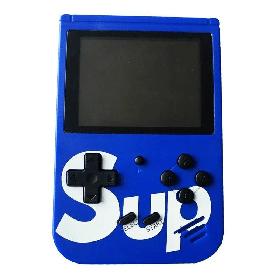 Портативна ігрова приставка Retro FC Sup Game Box 400 in 1 Синій