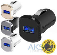 Зарядное устройство Scosche reVOLT 2.4A/12W White / Gold (USBC121MGD)