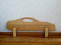 """Белый защитный бортик из натурального дерева """"Ferrari"""", фото 3"""
