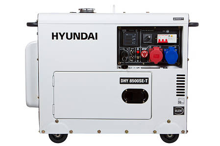 Генератор Hyundai DHY 8500SE-Т, фото 2