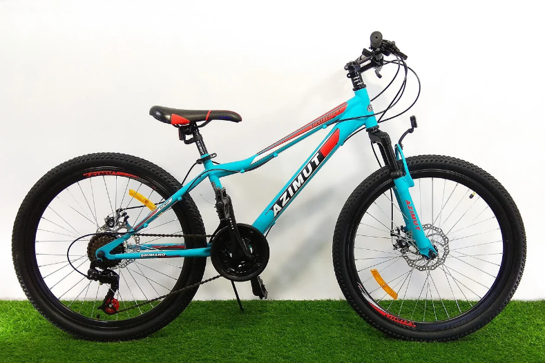 Горный велосипед Azimut Forest 26 D+ Фиолетовый