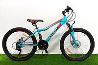 Горный велосипед Azimut Forest 26 D+ Фиолетовый, фото 1