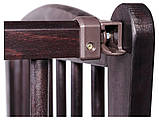 Кровать Babyroom Еліт маятник, ящик, откидной бок DEMYO-5  бук венге, фото 5