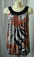 Платье женское легкое летнее стрейч мини бренд Quiz р.44, фото 1