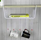 Вешалка на 5 крючков Белая, фото 2