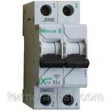 Автоматический выключатель 2-полюсный Eaton (Moeller Electric) PL6