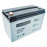 Аккумулятор Challenger 100Ач A12-100A