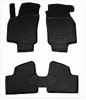 Коврики в салон Opel Astra G1998-2003 черный, кт - 4шт