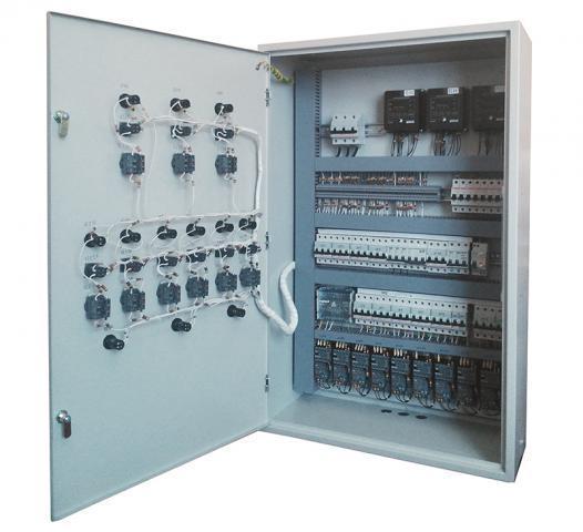 Шкаф управления сигнализацией. Собственное производство.