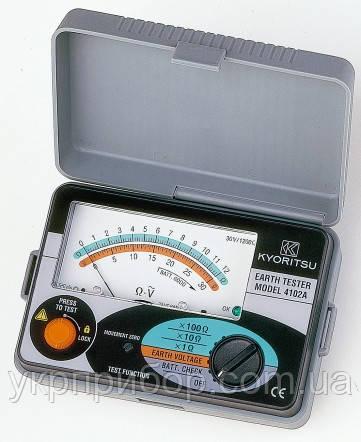 Kyoritsu KEW Model 4102A - Аналоговый измеритель параметров сопротивления заземления