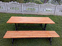 Стол парковыйЛето 2х0,76м, фото 1