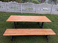 Стол парковыйЛето 2м, фото 1