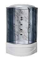 Душевой бокс TKF90 Мармур BG 90х90, тонированное стекло, глубокий поддон, А0045232