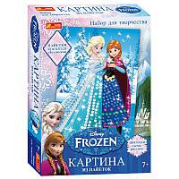 Набор для творчества - Картина из пайеток мультфильм Фроузен Анна и Эльза ( Frozen, Холодное сердце),15162005