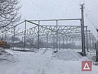 Ангар 32х48х6 - металоконструкція, каркас, склад,сто,цех,ферми, 1536кв.м