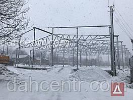 Ангар 30х60х6 металоконструкція під склад, цех, зерносховище