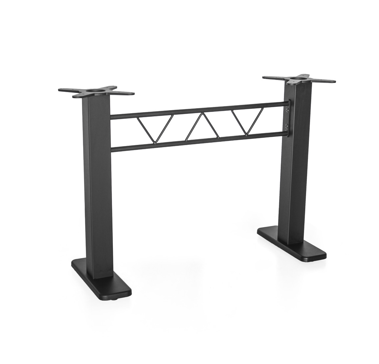 Основание для прямоугольного стола с квадратными стойками MA820 двойная h71 см.