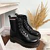 Ботинки женские демисезонные черные эко-кожа :), фото 10