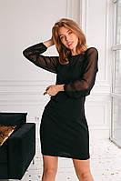 Платье с сеточкой в расцветках 29772, фото 1