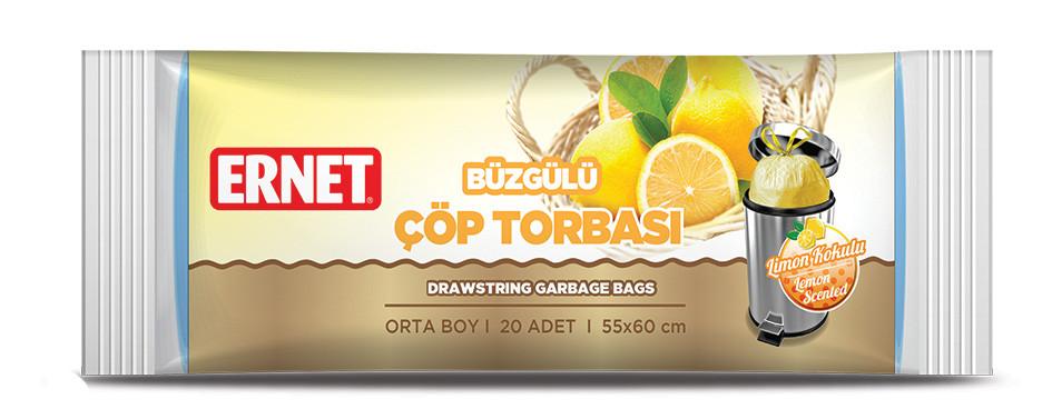 Мешок для мусора с запахом лимона Ernet 30 лт.