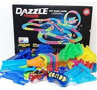 Детская игрушечная дорога DAZZLE TRACKS,гоночная трасса,  Детская автодорога DAZZLE TRACKS 187 деталей, фото 1
