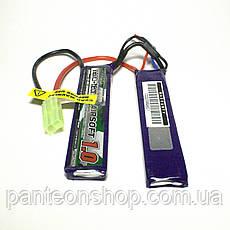 АКБ Turnigy LiPo 7.4v 1000mAh 20C нунчаки, фото 2