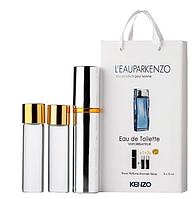 Мини-парфюм с феромонами мужской KENZO L'eau Par Kenzo 3х15 мл