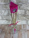 Подарочный цветок Роза из мыла 26см красная, фото 7