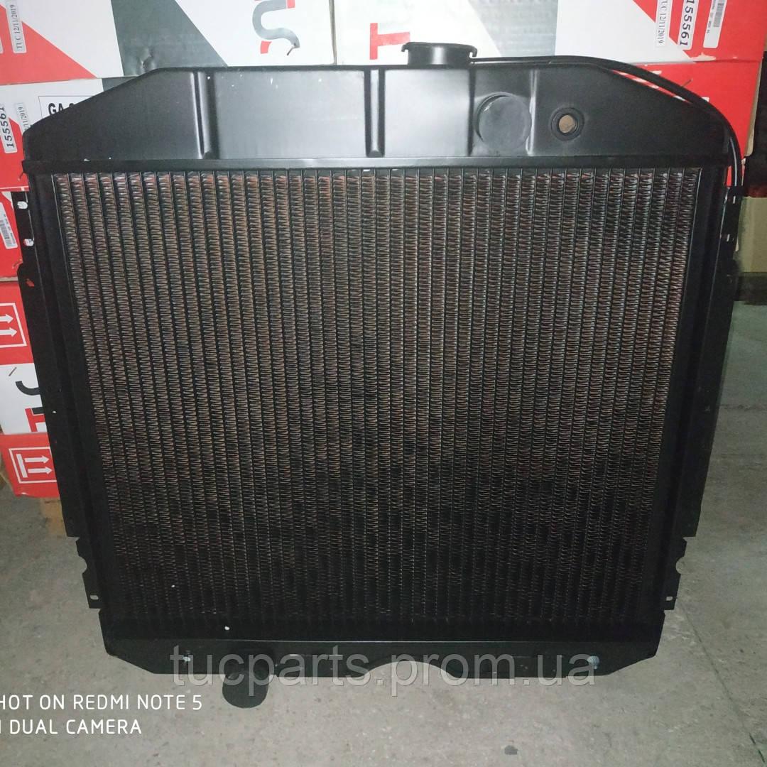 Радиатор  водяные Газ 53 (3 ряд) медный пр-во Радиатор Иран