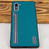 TPU чехол SHENGO Textile series для Samsung Galaxy Note 10, фото 3