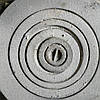 Плита чугунная круглая под казан ф.600 мм ф.500 мм (вес - 25 кг)