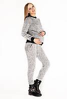 Тёплый вязаный костюм для кормящих и беременных Lullababe Helsinki Белый