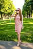 Платья для кормления с V-ным вырезом - Терракотовое