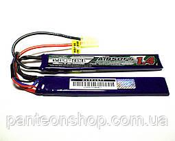 АКБ Turnigy LiPo 7.4v 1400mAh 15~25C нунчаки, фото 3