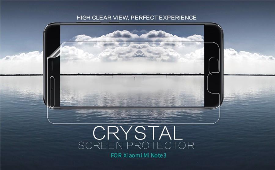 Защитная пленка Nillkin Crystal для Xiaomi Mi Note 3