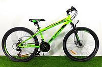 Горный велосипед Azimut Extreme 26 D Салатово-черный, фото 1