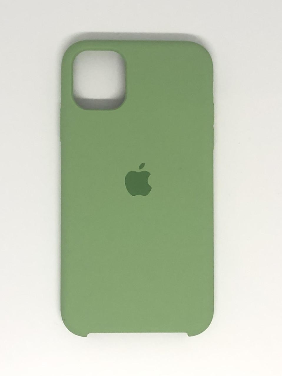 """Чехол Silicon iPhone 11 - """"Фисташка №1"""""""