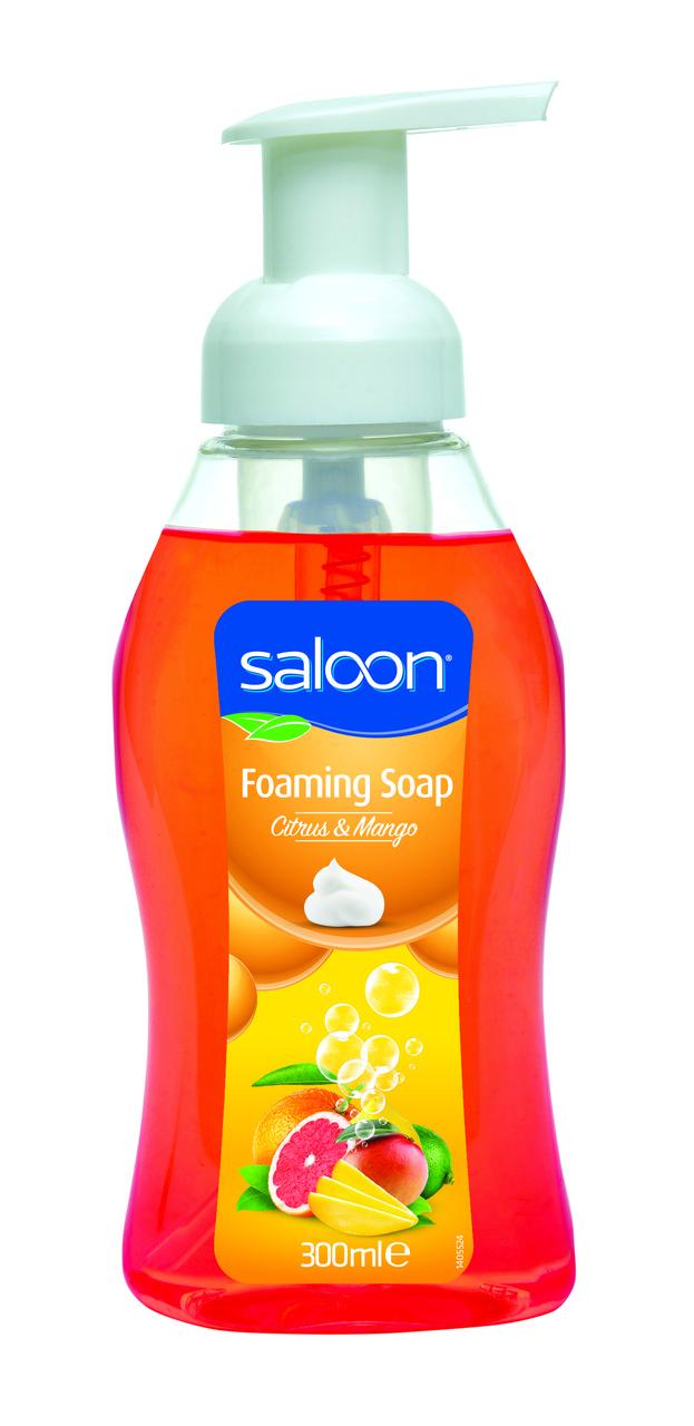 Мыло пена для рук «Цитрус и Манго» Saloon 300 мл.