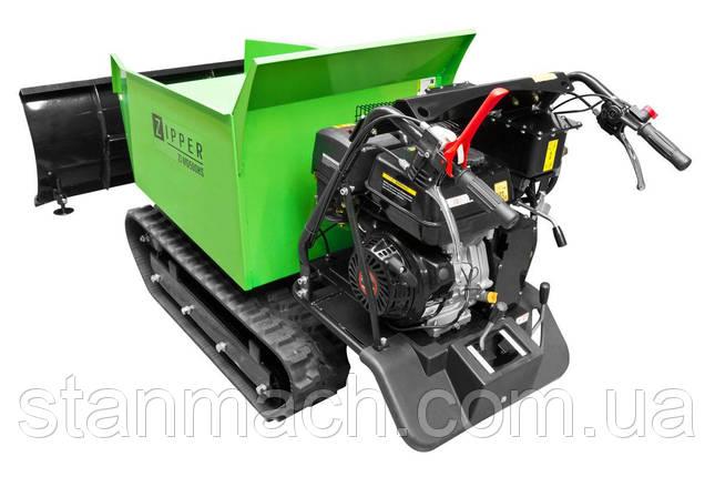Бензиновый гусеничный, мини самосвал Zipper ZI-MD500HS ( Думпер ), фото 2