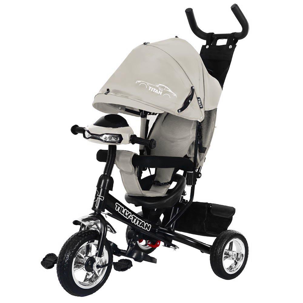 ⏩ Велосипед детский трехколесный TILLY TITAN T-348 серый
